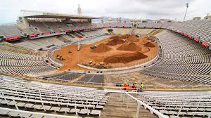 Olympics Venues Olympic Stage Set For X Games Barcelona