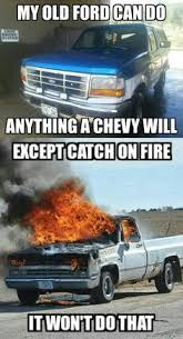 Funny Ford Truck Memes - bronco ford vs chevy meme funny quotes pinterest ford