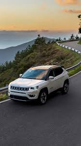 jeep cars white photos jeep 2017 compass limited white roads motion cars 1080x1920