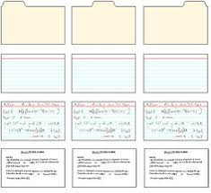 printable index cards maker printable index card templates 3x5 and 4x6 blank pdfs pinteres