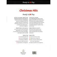 ready to play christmas hits for two cellos edited by bettina
