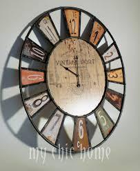 coolest wall clocks unusual wall clocks large