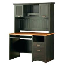 Home Office Desks With Hutch Black Desk With Hutch Bemine Co
