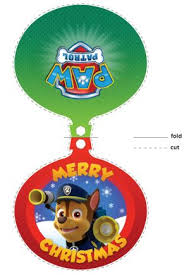paw patrol free printable christmas card is it for parties is