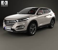 hyundai tucson 2015 interior hyundai tucson with hq interior 2016 3d model hum3d