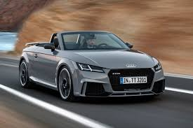 audi convertible 2016 audi goes porsche hunting with new 395bhp tt rs coupe and roadster