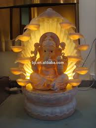 buddha statue water fountain cheerful 16 indoor indian libreria