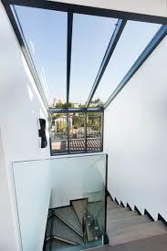 escalier garde corps verre stairs escalier architecte architect architecture wood bois
