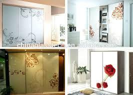 tempered glass closet doors wardrobes safe never fading decorative tempered glass bedroom
