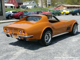 1972 stingray corvette value 1972 ontario orange corvette t top stingray