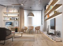 wood interior homes 3 inspiring homes with concrete ceilings and wood floors