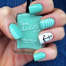 31 best uñas color menta mint nail art images on pinterest