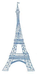 paris eiffel tower france wall art sticker wall decal transfers eiffel tower drawing simple clipart clipart