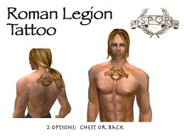 tattoo on chest or back second life marketplace spqr roman legion back chest tattoos box