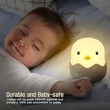 tecboss bedside l wake up light tecboss night light for kids rechargeable baby night light