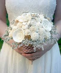 brides bouquet vintage chic bridal bouquet brides bouquet ivory sola bouquet
