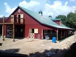 barn apartment kits horse barns amish built pa nj md ny j u0026n structures