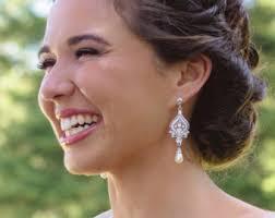 Chandelier Pearl Earrings For Wedding Vintage Romantic Inspired Bridal Jewelry U0026 By Glamorousbijoux