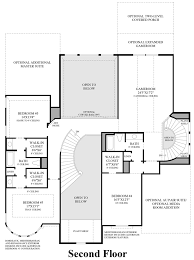 monticello second floor plan cane island the venticello home design
