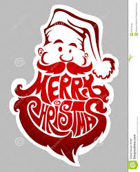 merry santa claus label stock photography image 27672242