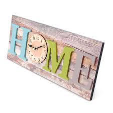 Wohnzimmer Uhren Holz Wanduhr Home Holzoptik Küchenuhr Uhr Breite Ca 40cm Wanduhr