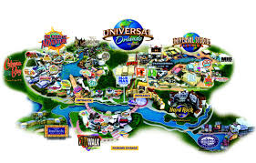 Universal Studios Orlando Interactive Map by Library Project Thinglink