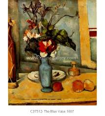The Blue Vase Paul Cezanne Paintings Wholesale Oil Painting Reproductions From