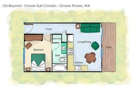 ocean shores floor plan on beyond condo vacation rental condo ocean surf condos ocean