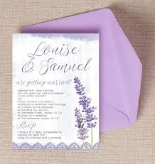 lavender wedding invitations lilac lavender wedding invitation from 1 00 each