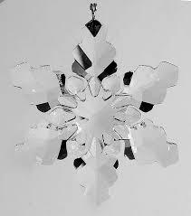 swarovski annual ornaments 2008 snowflake ornament no box by