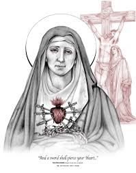 the seven swords rosary of our lady of sorrows