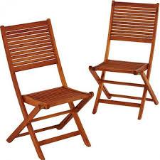 chaise jardin bois lot de 2 chaises de jardin en bois eucalyptus trigano store