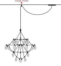 wiring a chandelier how to hang a chandelier from a vaulted ceiling how to hang a