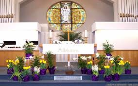 Easter Decorations Catholic Church by Easter Church Decoration Ideas The Most Elegant Easter Garden