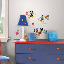 Mickey Mouse Clubhouse Bedroom Decor Mickey Mouse Clubhouse Capers Wall Decals Roommates