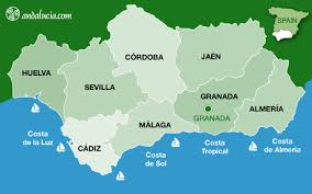 grenada location on world map the city of granada maps of granada andalucia southern spain