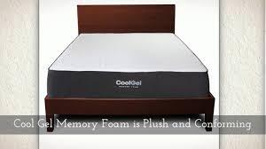 Ventilated Mattress Pad Classic Brands 10 5 Inch Cool Gel Ventilated Memory Foam Mattress