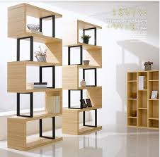 usd 9 53 bookcase container shelf display cabinet partition shelf
