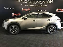lexus atomic silver nx used 2018 lexus nx 300h 4 door sport utility in edmonton ab l14186
