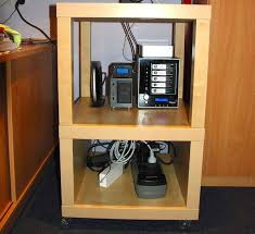 Ikea Racks Home Office Making A Cheap Ikea Server Rack General Business It
