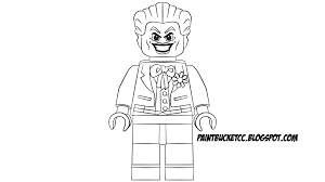 Paint Bucket Coloring Pages And Pixel Art Lego Joker Minifigure Coloring Pages Joker