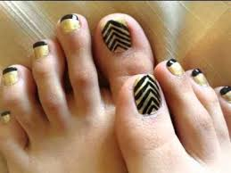 easy diy toe nail art designs youtube