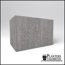 precast concrete planter lightweight commercial planters unlimited