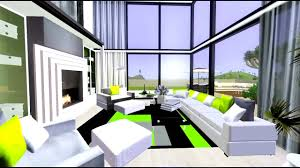 eco modern furniture the sims 3 urban modern house eco collection youtube