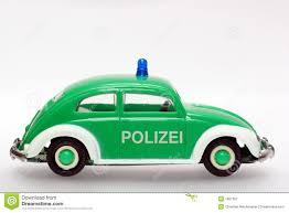 volkswagen beetle side view german toy police car vw beetle sideview stock image image 1867357