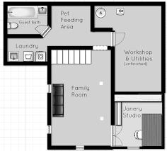 Rental House Plans Updated Rental Home Tour Basement Stuff The Borrowed Abodethe