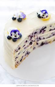 wedding cake recipes berry lemon blueberry cake 2 jpg