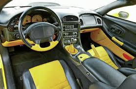 black and yellow corvette 1999 chevrolet callaway corvette c12 1 of 2 in yellow