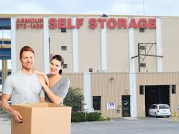 armour self storage provides clean storage units