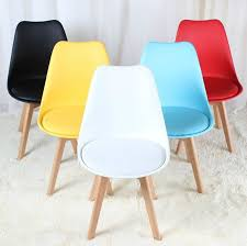 Coffe Shop Chairs Tables And Chairs Meals Seat Assembly Tulip Chair Seat Simple Cafe